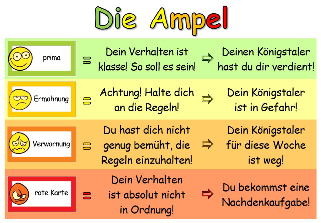 Gelbe Karte Grundschule.Grundschule Wilnsdorf Stufenplan Ampelsystem